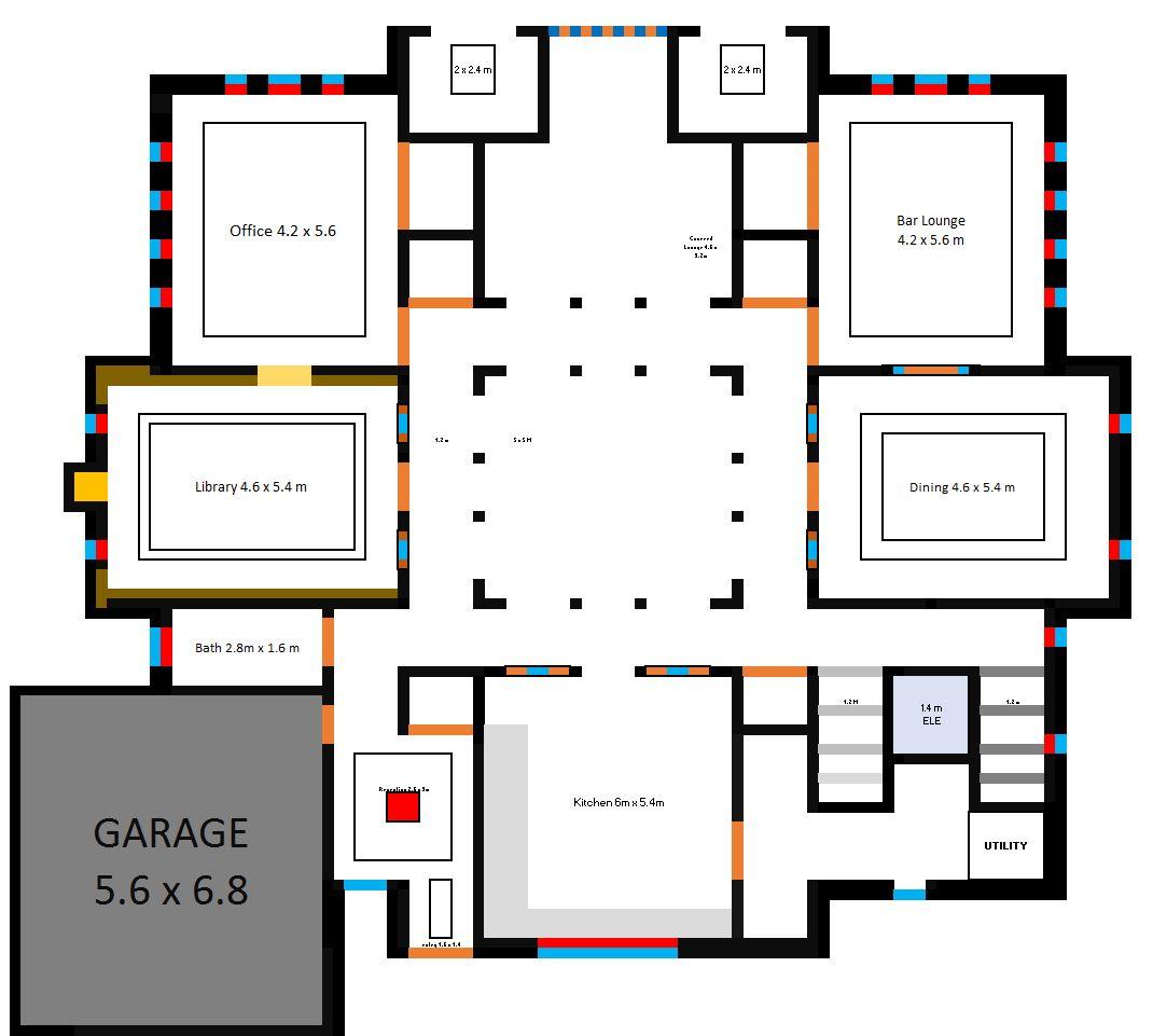 Storage room floor plan best free home design idea for Storage room plan